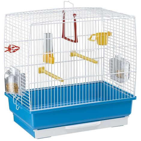Ferplast Rekord 2 Bird Cage (One Size) (White)