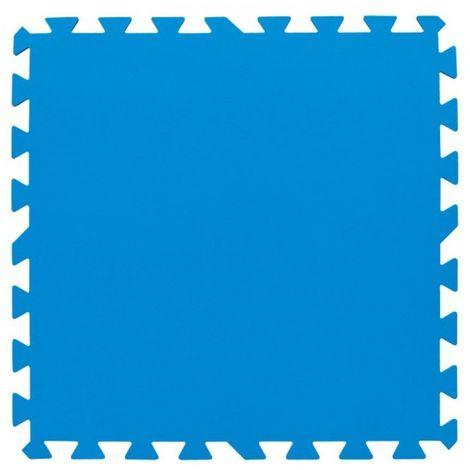 Bestway Pool Floor Protector (Pack of 8) (One Size) (Blue)