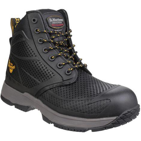 Dr Martens Mens Calamus S1P Non-Metallic Lace Up Safety Boots (13 UK) (Black)