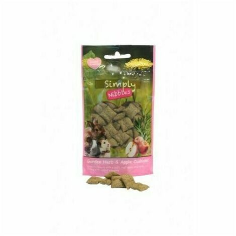 Rosewood Garden Herb Small Pet Treat (50g) (Multicoloured)