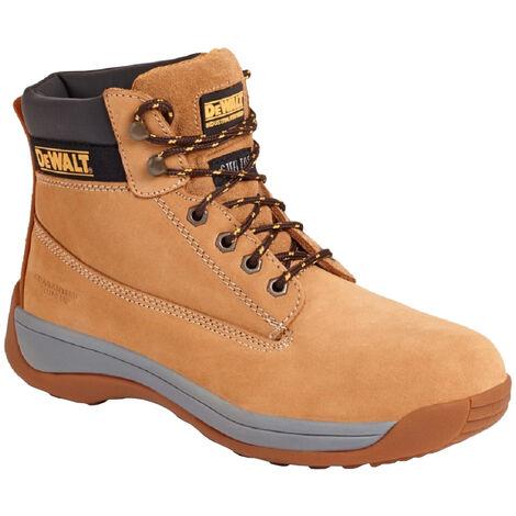 Dewalt Mens Apprentice Leather Industrial Steel Toe Safety Boot (14 UK) (Honey)