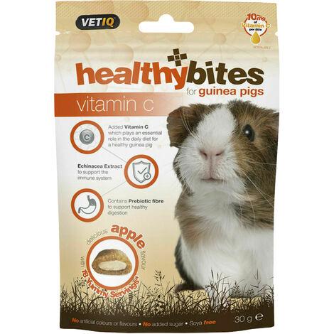 VetIQ Healthy Bites Small Pet Food (30g) (Brown/White)