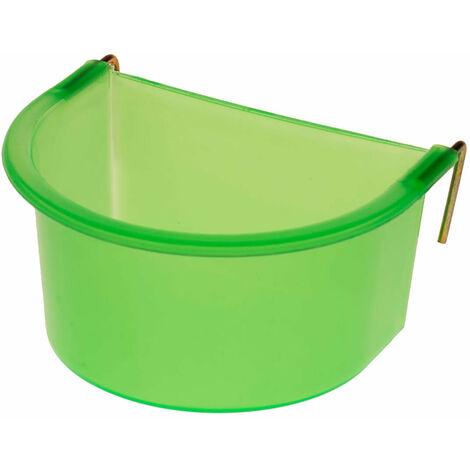 Eton Plastic D Poultry Feeder (300ml) (Green)