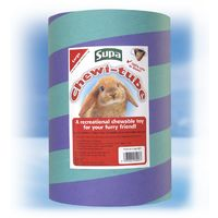 Supa Chewi Tube Toy (S (Hamster Size)) (May vary)