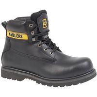 Amblers Steel Mens FS9 Steel Toe Cap Boot / Mens Boots (12 UK) (Black)