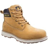 Amblers Safety Mens AS170 Lightweight Full Grain Leather Safety Boot (10 UK) (Honey)