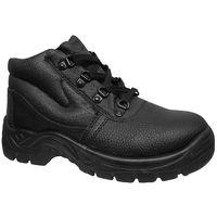Warrior Mens Steel Toe Chukka Boots (8 UK) (Black)
