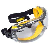 Dewalt Safety Goggle Concealer (One size) (Clear)