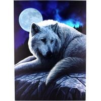 Lisa Parker Guardian of the North Plaque (Small) (Blue)