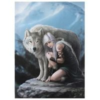 Anne Stokes Protector Canvas Plaque (Small) (May Vary)