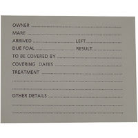 Stubbs Large Stud Card Holder (Large) (Clear)