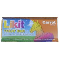 Likit Treat Bar (24 Pack) (One Size) (Carrot)