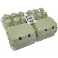 Eton Plain Egg Box (Pack of 20) (One Size) (Green)