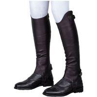 Moretta Unisex Adult Leather Gaiters (XL Standard) (Brown)