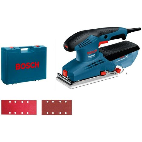 Bosch 0601070701 Lijadora orbital GSS 23 AE Prof 190W 7000 12000rpm microfiltro Control electrónico + maletín