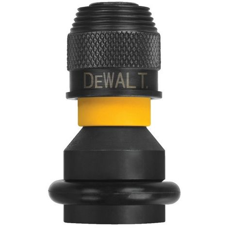 DEWALT DT7508-QZ - Adaptador para llaves de vaso de impacto de 1/2'' a 1/4''