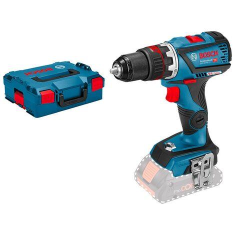 Bosch 06019G7102 Taladro atornillador a batería GSR 18V-60 FC FlexiClick + portabrocas + L-Boxx sin batería ni cargador