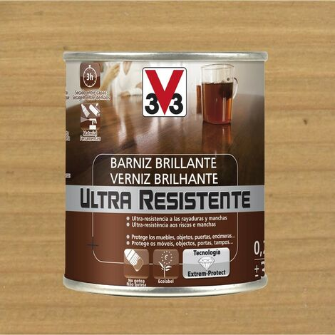 V33 056766 - Barniz interior Ultra Resistente color roble claro acabado brillante 750 ml