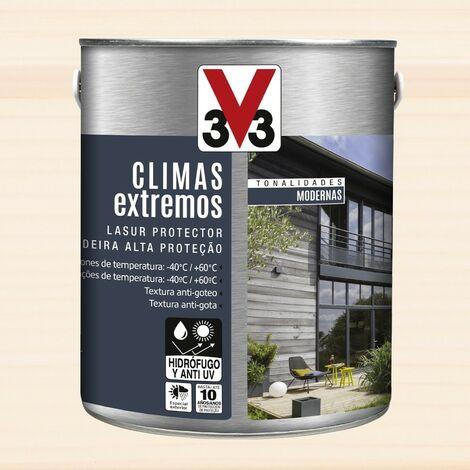 V33 112734 - Protector decorativo Climas Extremos tonalidades modernas para madera color cedro blanco 2,5 L