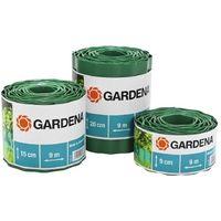 Gardena 536-20 Cercadillo para cesped Rollo 9cm alto y 9m largo