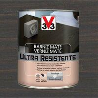 V33 056859 - Barniz interior Ultra Resistente color wengue acabado mate 750 ml