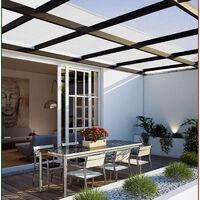 Deuba Set de 14 Placas de policarbonato 60,5x121cm 10,25 m² Planchas Paneles de doble cara