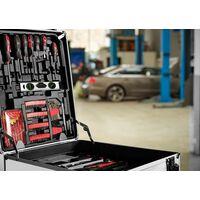 Monzana Caja de Herramientas XXL con 899 Piezas Maletín de herramientas Portátil con ruedas