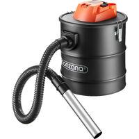 Monzana aspirador de cenizas con función de soplado para limpieza de chimeneas pellets parrillas 1200W silencioso 20L