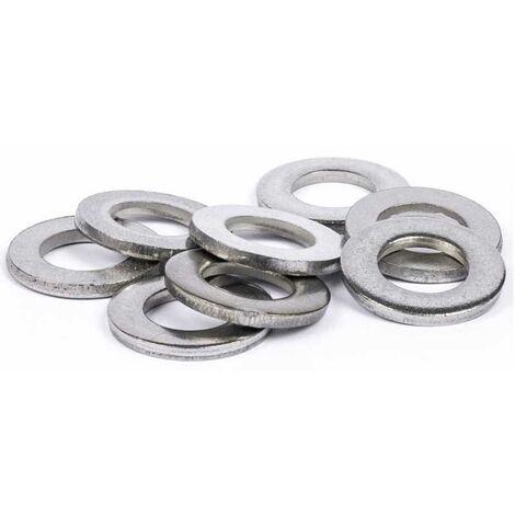 Rondelles plates DIN125 inox A4   3mm - 100 pcs