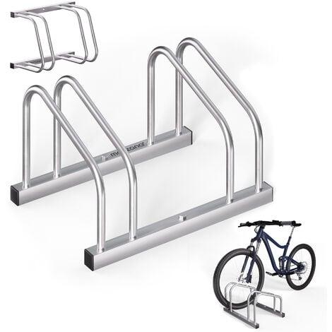 Râtelier pour 2-6 vélos râtelier support de rangement pneu 60mm au choix 2 Fahrräder (de)