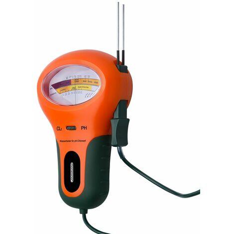 Testeur de qualité d'eau piscine pH et teneur en Chlore électronique câble 120 cm