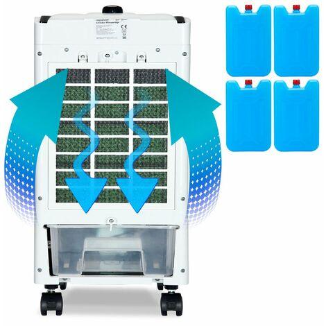 Climatiseur mobile Ventilateur climatiseur ioniseur humidificateur dair 4 L