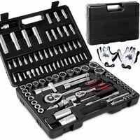 Mallette à outils 94, 192 ou 215 Acier Chrome Vanadium Coffret de réparation 94 teiliges Werkzeugset (de)