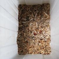 Broyeur de branches vegetaux jardin électrique 2500 watts 50 L déchiqueteur jardin branches arbustes 40 mm