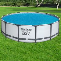 Bâche solaire flottante pour piscine Bestway Ø 417cm - Fast Set™ / Power Frame