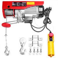 Treuil électrique 125 - 800 kg avec câble en acier et boîtier de commande 125/250 kg (de)