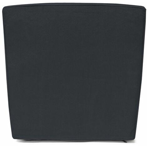 Detex® 8x Kissenbezug  Kissenhüllen Bezüge Sitzauflage Polsterbezug Bezug Grau