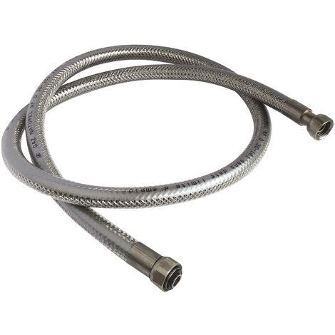 Flexible inox pour GAZ NATUREL- Longueur : 1,5 mètre- Durée illimitée