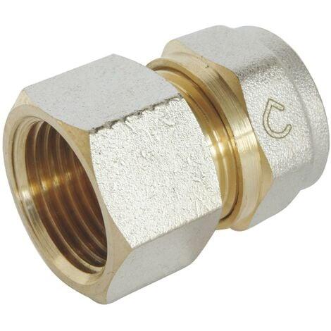 Racccord droit à visser pour tube Multicouche Ø16-F15/21