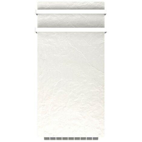 Sèche-serviettes soufflant GODAI Ardoise Blanche 1700W (700W+1000W) - Valderoma AB17BLG