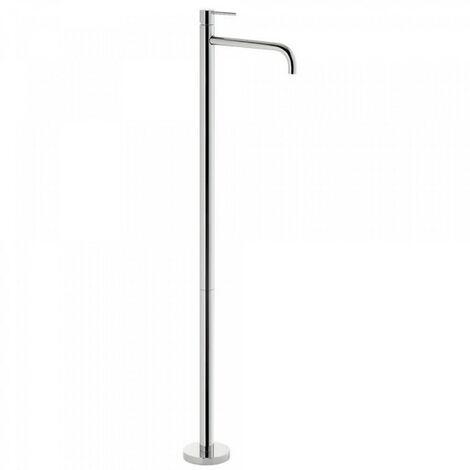 Robinet sur pied pour lavabo corps encastré inclus Chromé STUDY COLORS - TRES 26285301