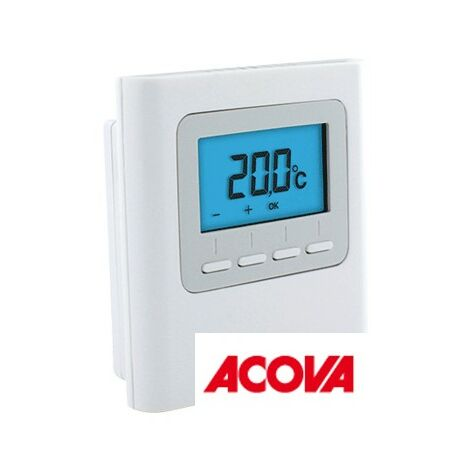Thermostat d'ambiance RF-X3D Radio Fréquence ACOVA 895570