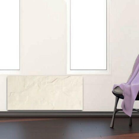 Radiateur à inertie PLINTHO Ardoise Blanche Valderoma 1500W Plinthe AB1500P