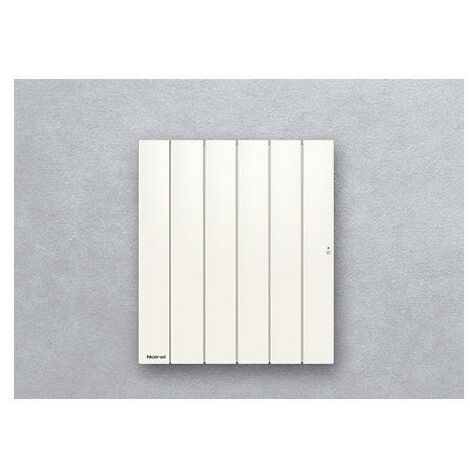Radiateur Fonte NOIROT - BELLAGIO Smart ECOControl 750W Horizontal Blanc N1682SEFS