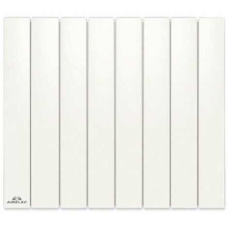 Radiateur Fonte AIRELEC - FONTEA Smart ECOControl 2000W Horizontal Blanc - A693057