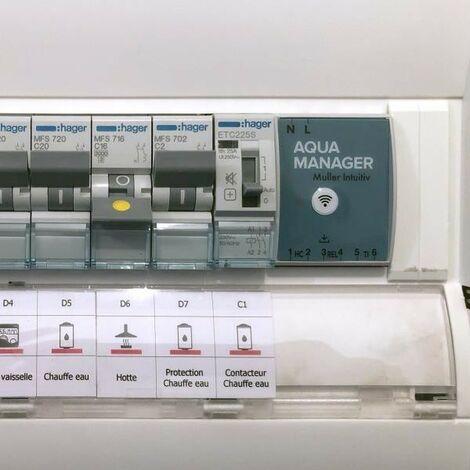 Aqua manager - Pilotage à distance de l'eau chaude - MULLER INTUITIV - NEN9501AA
