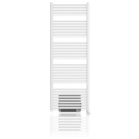 Sèche-serviettes électrique OLERON 2 AIR soufflant 1500W (500W + 1000W) NOIROT - 00K2335STRD