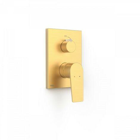 Mitigeur à encastrer Rapid-Box (2 voies) Structure encastrée Or Mat - TRES 21128001OM