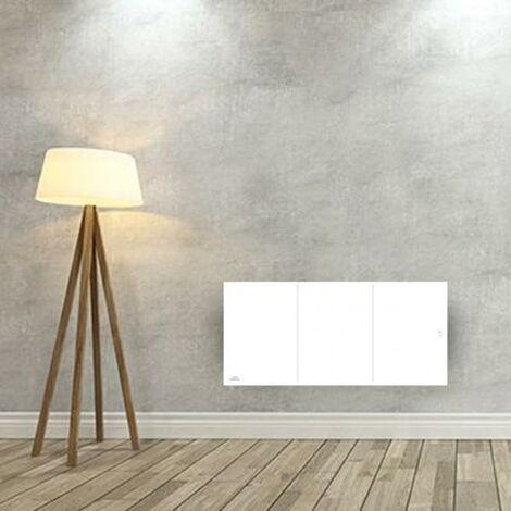 Radiateur electrique Fonte AIRELEC - OZEO Smart ECOcontrol 1500W Bas Blanc - A693505