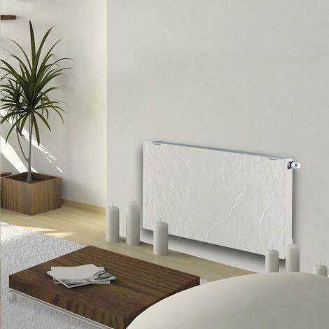 Radiateur chauffage central H2O DK11 Horizontal Ardoise Blanche 780W VALDEROMA 01100011
